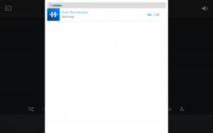 Samsung Galaxy Note 10.1 2014 Edition - Seznam skladeb v hudbě