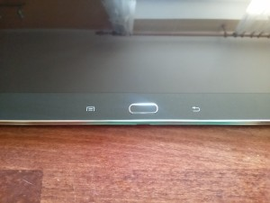 Samsung Galaxy Note 10.1 2014 Edition - Tlačítko Home