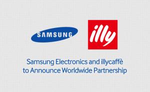 Samsung Illycaffè - Spolupráce