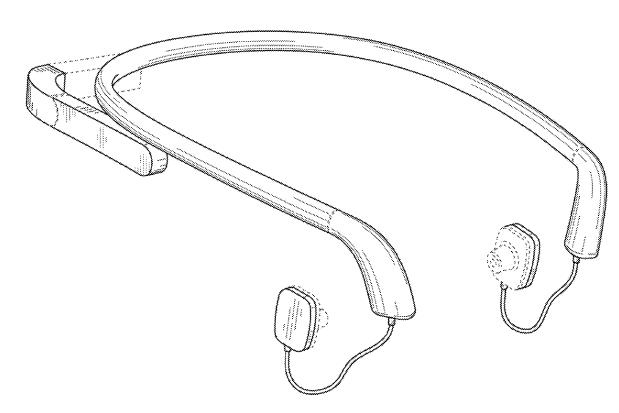 Podoba prodejní verze Google Glass v patentu?