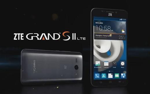 Představeno ZTE Grand S II s hlasovými příkazy po vzoru Moto X