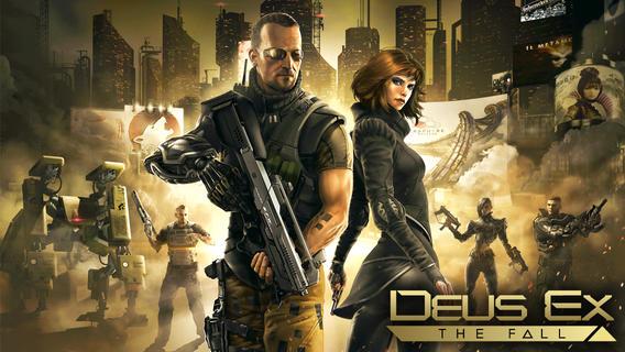 Deus Ex: The Fall konečně pro Android