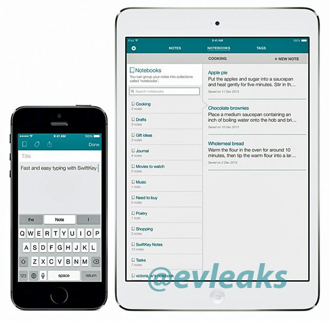 SwiftKey Note pro iOS bude zřejmě aplikace na poznámky [aktualizováno]