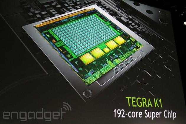Tegra K1 – vstup Nvidie mezi 64bitové mobilní procesory