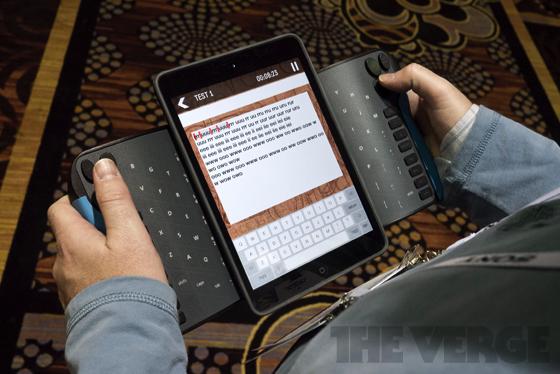 TrewGrip – atypická klávesnice pro tablety