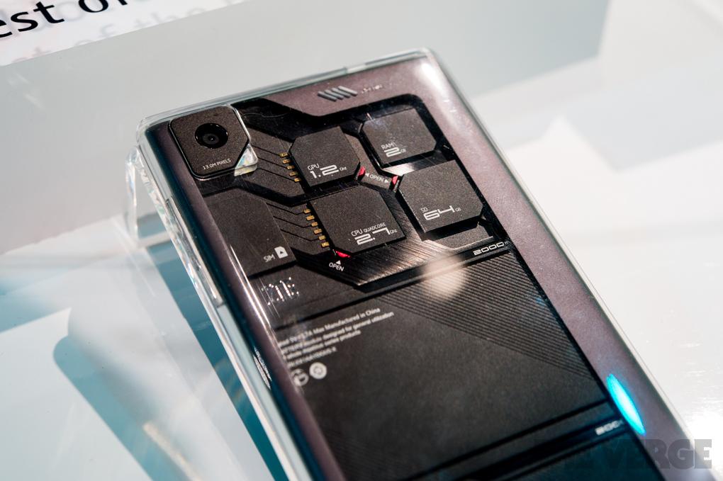 ZTE ukázalo na CES modulární mobil