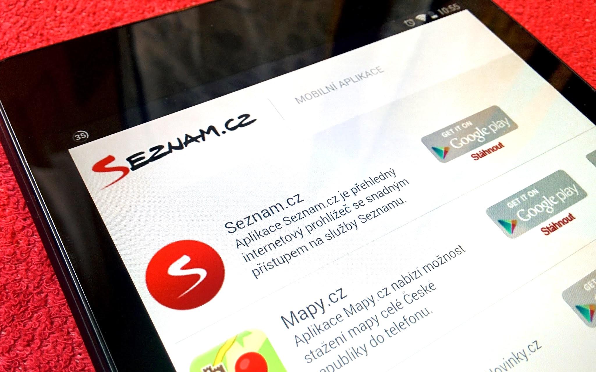 Seznam.cz rozšiřuje spolupráci s výrobci smartphonů a tabletů