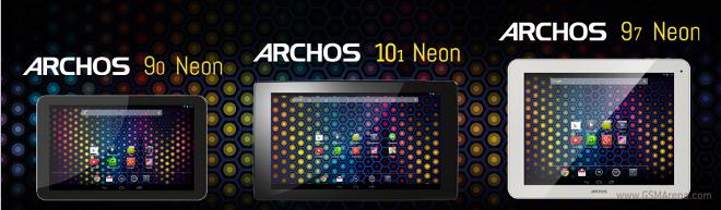 Archos odhalil tři průměrné tablety Neon