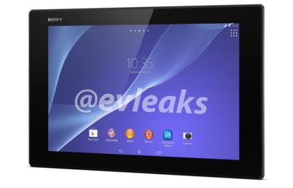 Sony Xperia Tablet Z2 – první rendery [aktualizováno]