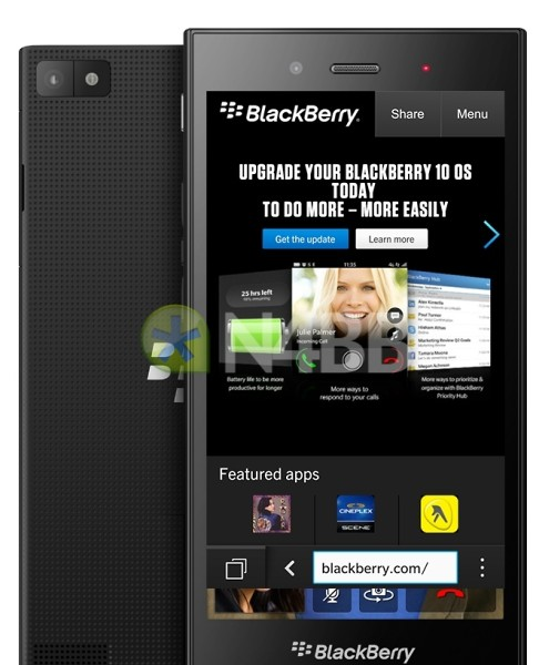 BlackBerry Jakarta odhalena na renderu