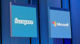 Microsoft uzavřel dohodu s Foursquare