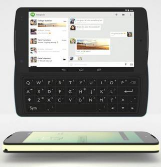Google Nexus P3 – koncept se třemi hardwarovými moduly