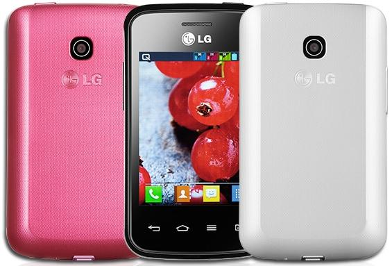 LG Optimus L1 II Tri s podporou tří SIM karet
