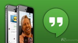 Hangouts získává video-zprávy a další novinky [iOS]
