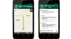Aplikace Google Mapy povyšuje na verzi 7.6