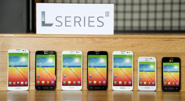 LG představilo smartphony L Series III