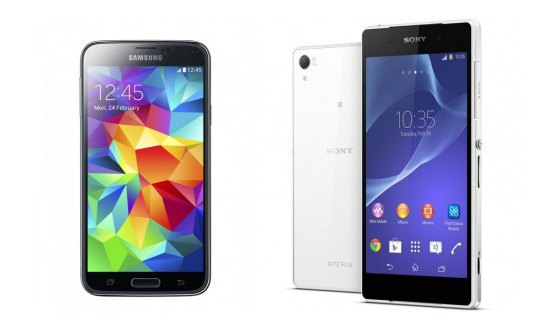 Souboj specifikací – Galaxy S5 vs. Xperia Z2