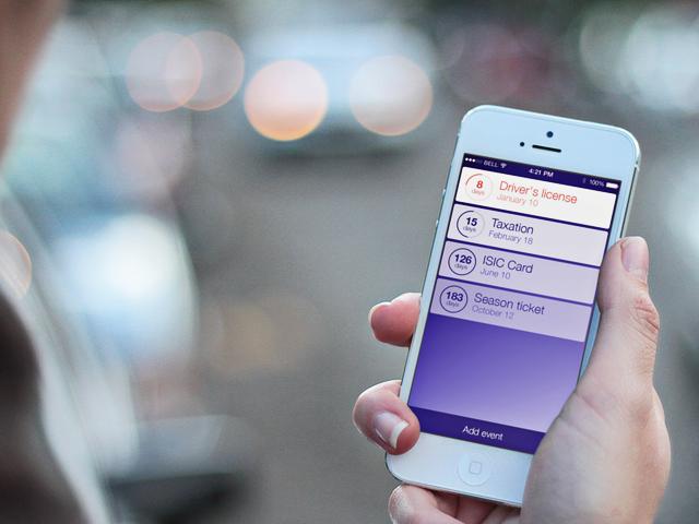 #TipNaAplikaci Expires – sledujte platnost nejen svých dokladů [iOS]