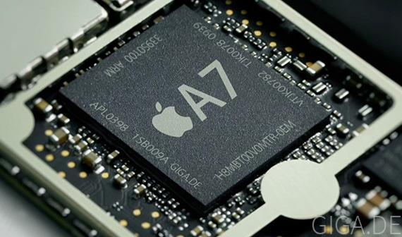 Apple je žalován kvůli procesoru Apple A7