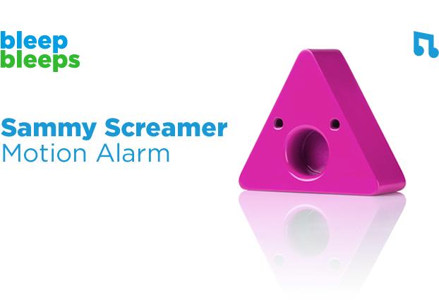 Sammy Screamer – chytré příslušenství pro rodiče