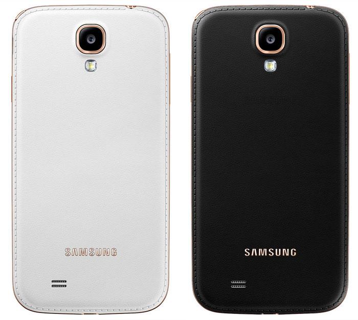 Samsung uvedl další varianty Galaxy S4 s imitací kůže
