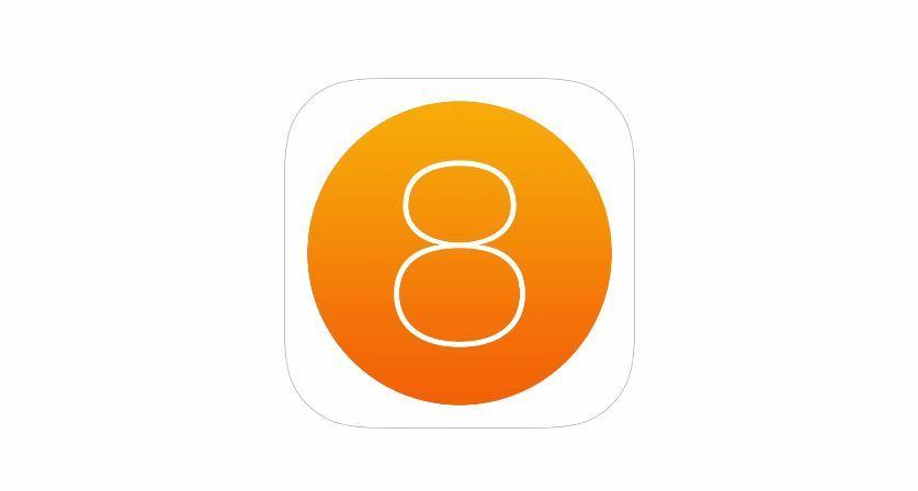 Koncept iOS 8 na videu