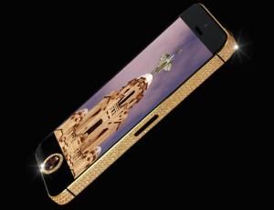 iPhone 5 Black Diamond - přední část