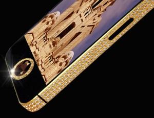 iPhone 5 Black Diamond - tlačítko Home