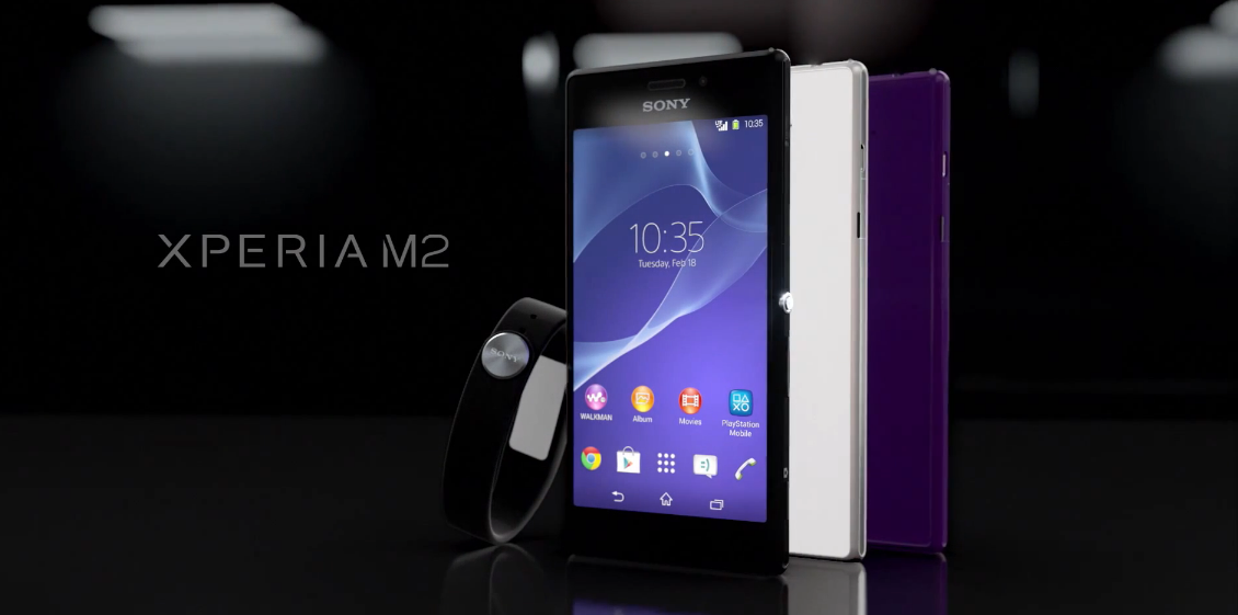 Sony Xperia M2 – zástupce střední třídy #MWC2014