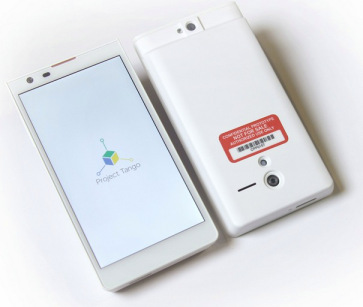 "Google a projekt Tango – smartphone s ""Kinectem"""