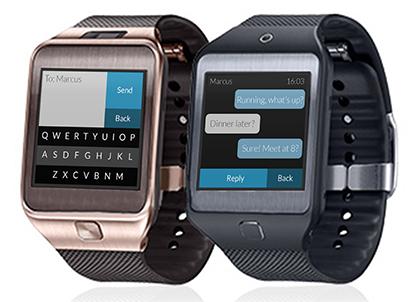 Klávesnice Fleksy bude dostupná i na hodinkách Gear 2