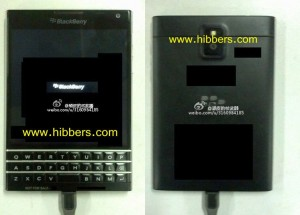 BlackBerry prototyp