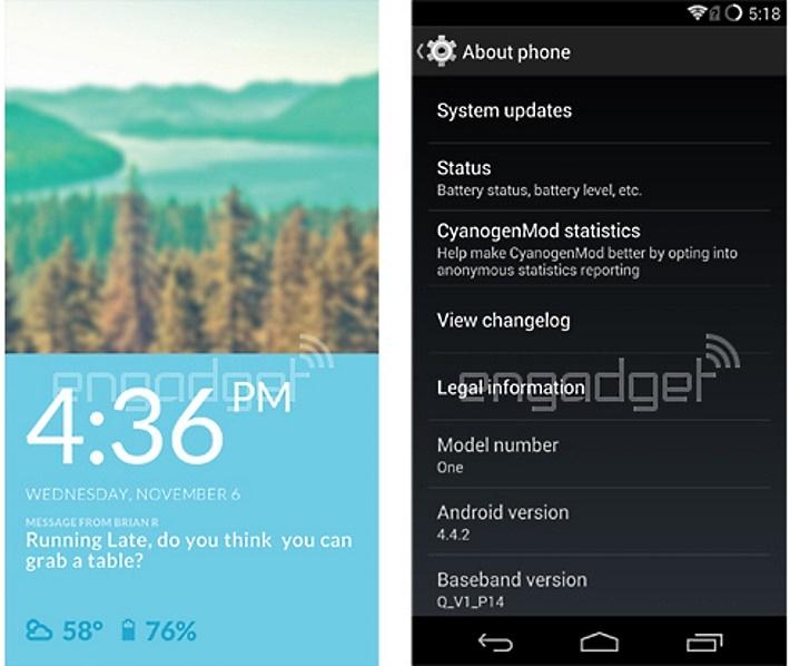 CyanogenMod 11S – specifická verze pro OnePlus One