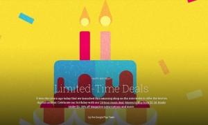 Google Play narozeniny