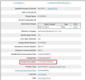 Samsung S-Circle databáze