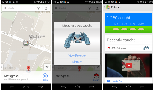 Google Maps – staňte se Pokémon Mastrem