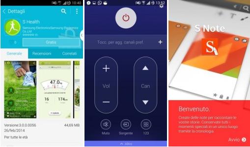 Aplikace z Galaxy S5 ke stažení [apk]