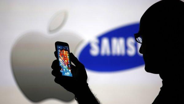 Apple chce 40 dolarů za každý smartphone a tablet od Samsungu