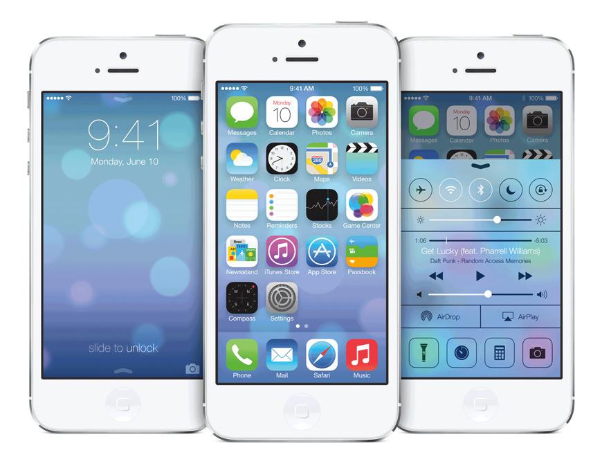 iOS 7 má 85 % chytrých zařízení od Applu
