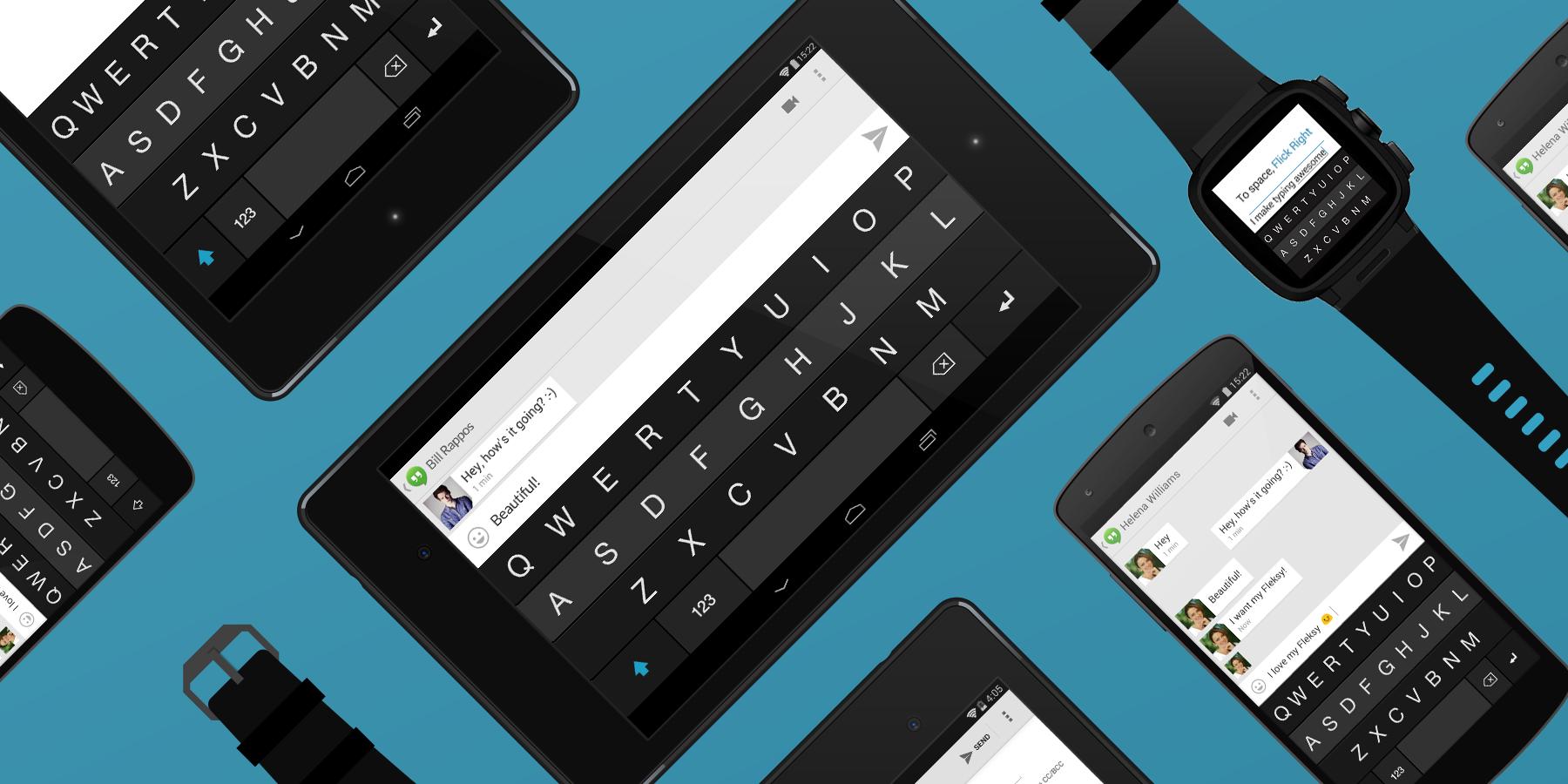 Fleksy Keyboard – agresivní klávesnice s gesty