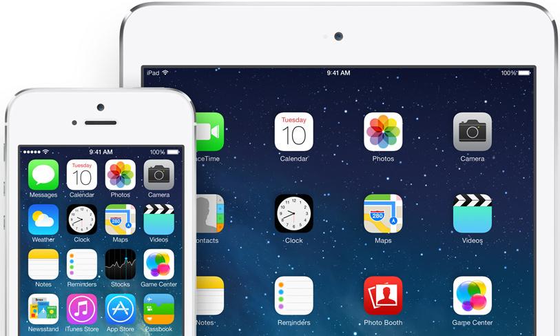 iOS 7.1 – za 3 dny po vydání na 17,9 % zařízení v Severní Americe