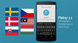 Klávesnice Fleksy 2.1 – přináší oficiální podporu češtiny a slovenštiny