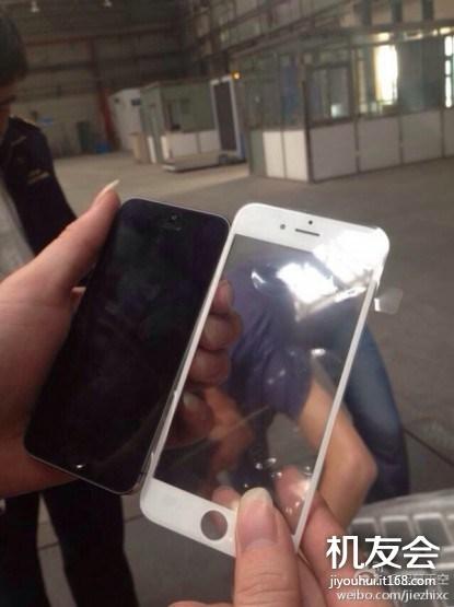 Nová fotografie nám ukazuje čelní panel iPhonu 6 [aktualizováno]