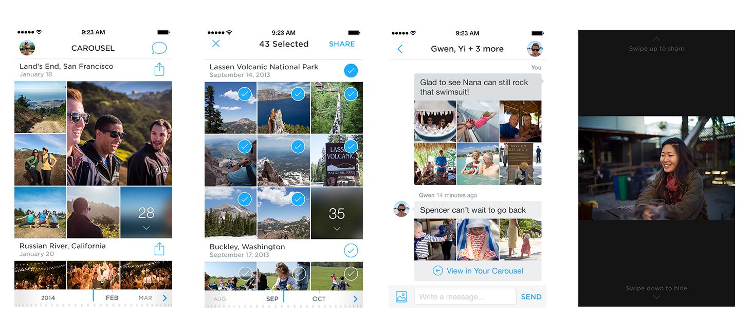 Carousel od Dropboxu – nová galerie pro Android a iOS