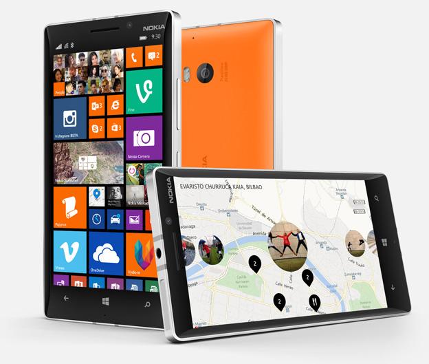 Nokia představila Lumie 930, 630 a 635