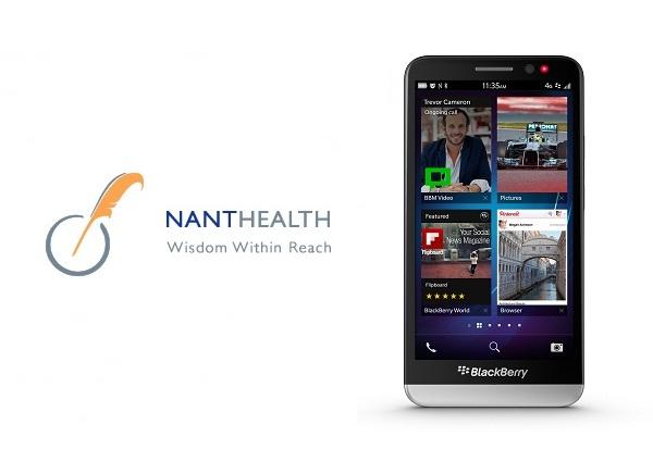 BlackBerry koupilo zdravotnickou firmu NantHealth