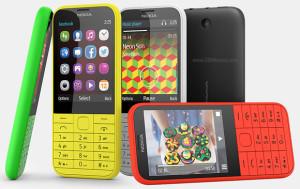 Nokia 225 - barevné varianty