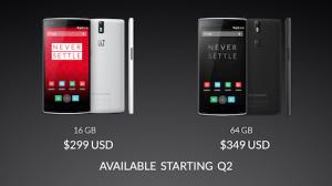 OnePlus One - ceny