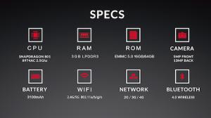 OnePlus One - specifikace