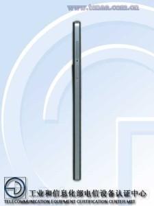 Oppo R1S - Boční část